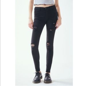 Black PacSun Low Rise Jegging